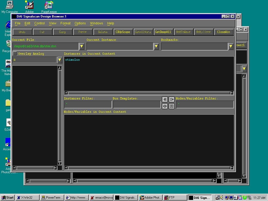 Simulation with Verilog-XL